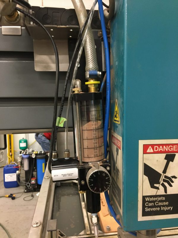 APERTURE :REG 2 ABRASIVE REGULATOR HYPRECISION 2021 - Waterjet Production Academy GmbH