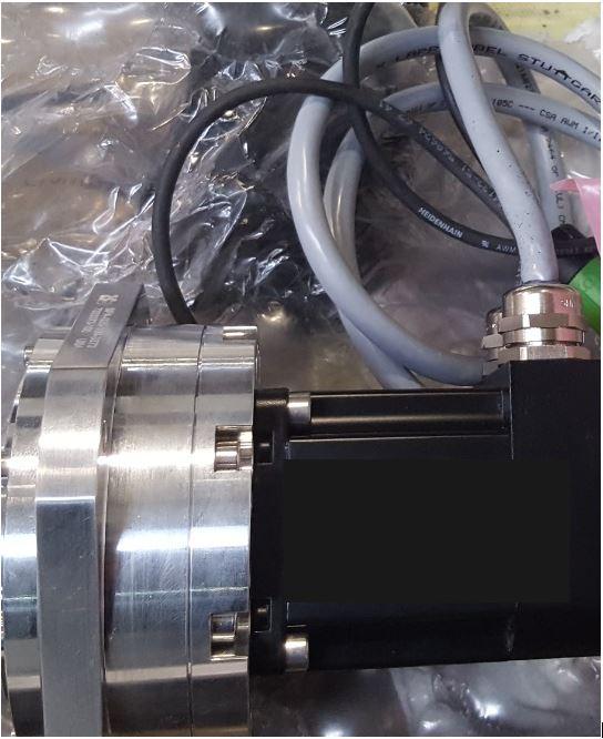 Actuator Harmonic Drive - Mach 4c 2021 - Waterjet Production Academy GmbH